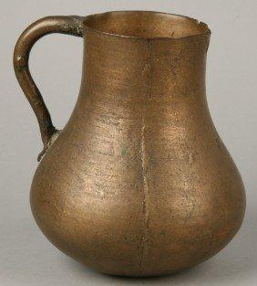 18th C. English Bronze Mug