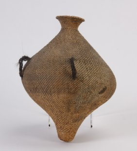 Early 20th C. Paiute Water Basket