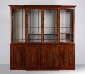 Late 18th C. Georgian Mahogany Bookcase