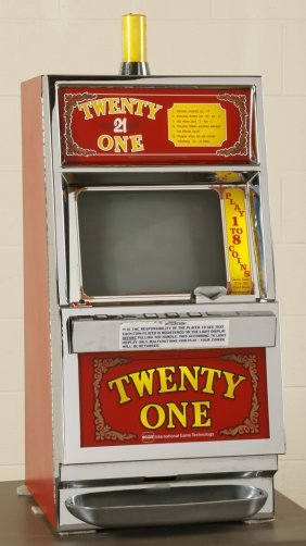 """twenty One"" Coin-op Slot Machine"