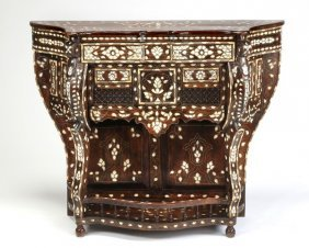 """Syrian Mother-of-pearl Inlaid Console, 48""""w"""