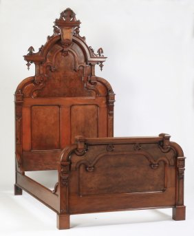 Highback Bed Attributed To Thomas Brooks