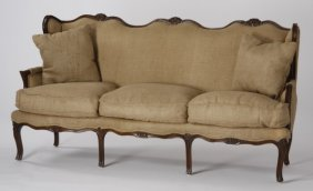 19th C. Louis Phillipe Style Walnut Sofa