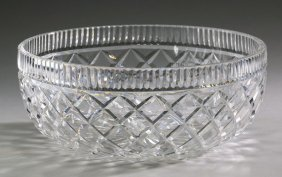 "Waterford Crystal Lismore Bowl, 10""w"