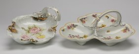 (2) Continental Porcelain Serving Dishes