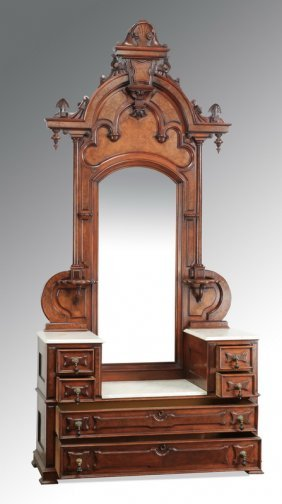 19th C. Dresser Attributed To Thomas Brooks