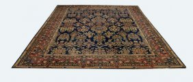 Hand Knotted Persian Tabriz Rug, 15' X 11'