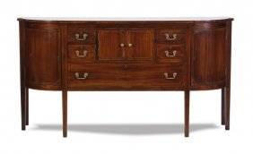 Early 20th C. Federal Style Mahogany Buffet