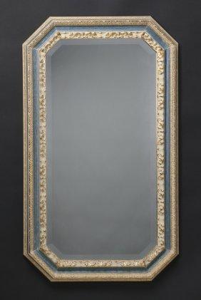Italian Beveled Glass Mirror