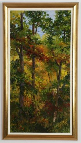 Barbara Fountain Signed, O/c, Landscape