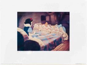 Snow White Wakes Up Poster