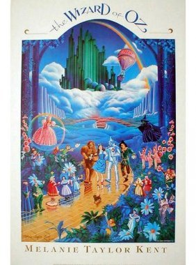 1989 Kent The Wizard Of Oz Poster