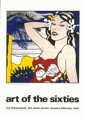 Roy Lichtenstein - Aloha, From Art Of The Sixties