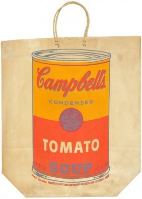 Andy Warhol - Campbell's Tomato Soup Bag - 1966