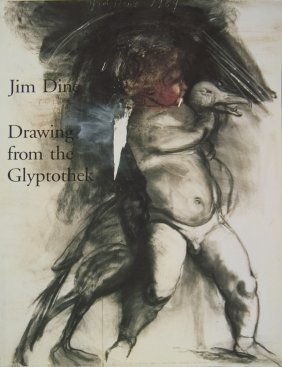 Jim Dine Drawing From Glyptothek - 1993 - Signed