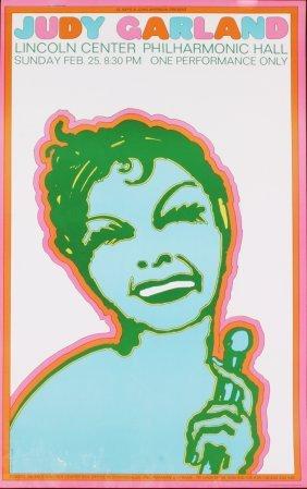 Seymour Chwast - Judy Garland - 1967