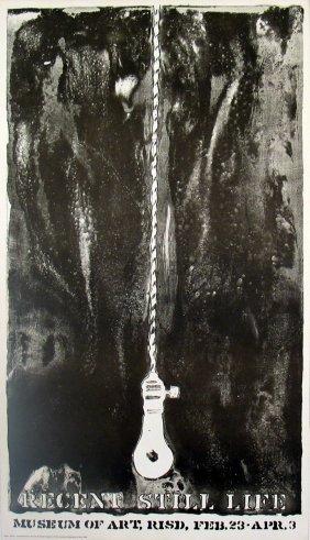 Jasper Johns - Light Bulb - 1968