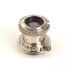 Hugo Meyer Makro Plasmat 2.7/5cm, SN: 580659, 1932