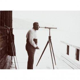 Klimt With Telescope