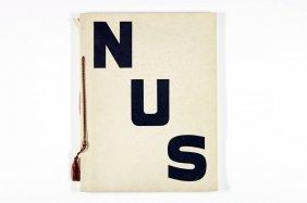 'nus', Daniel Masclet, Paris 1933