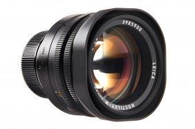 Noctilux-m 1/50mm 11822 'the Last Lens'