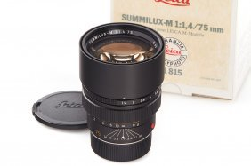 Summilux-m 1.4/75mm 11815