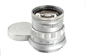 Leica: Summicron  2/5cm Prototype