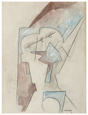 "Henri Laurens "" Abstract"" 1917"