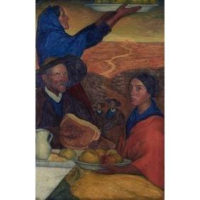 Valentin De Zubiaurre, (spanish/french, 1879-1963),