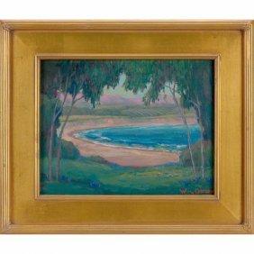 William Ballantine Dorsey Oil On Canvas,