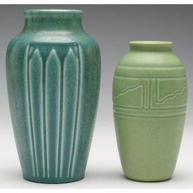 Rookwood Vase, With A Rookwood Vase,