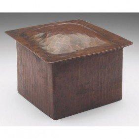 Dirk Van Erp Box, Hammered Copper, Very Nice Origin