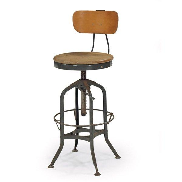 Toledo Furniture Quot Uhl Quot Drafting Stool Lot 921