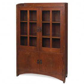 Good Gustav Stickley Bookcase