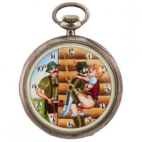 International Watch Co. Two Men In Lederhosen And A