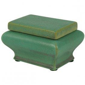 "Teco, N.l. Clark, Designer Match Box, #385 3.5""w X"