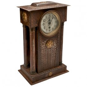 German, Retailed By Mermod Jaccard & King Mantle Clock