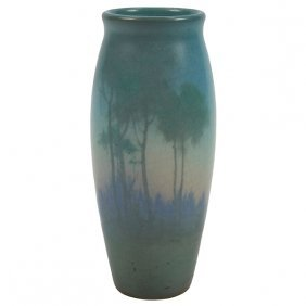 Lenore Asbury (1866-1933) For Rookwood Pottery Scenic