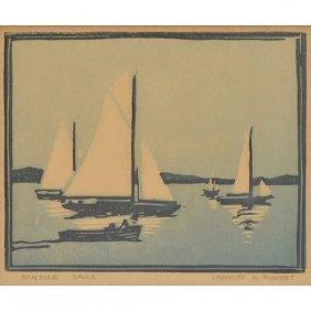 Charles Henry Richert (1880-1974) Summer Sails