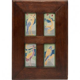 Frederick Rhead (1856-1933) For American Encaustic Tile