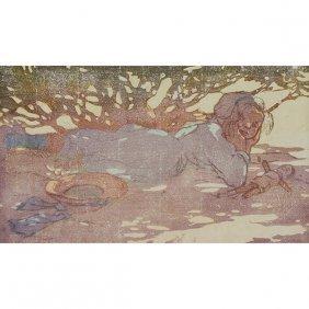 Mabel Royds, (british, 1874-1941), Sunspots, Color