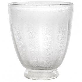 """Leerdam Vase 6""""dia X 7""""h"""