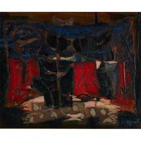 James Coignard, (french, 1925-2008), Nature Morte Sur