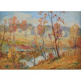 Jesse Carl Hobby, (american, 1871-1938), Kent Creek,