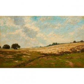 Edward Gay, (american/irish, 1837-1928), Landscape,