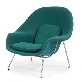 Eero Saarinen (1910-1961) For Knoll Intl Womb Chair