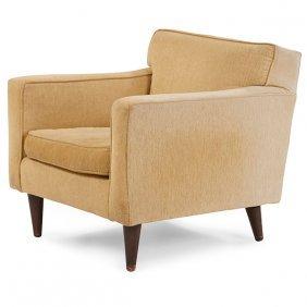Edward Wormley (1907-1995) For Dunbar Lounge Chair