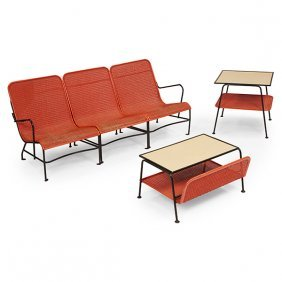 Lloyd Manufacturing Co. Rock-a-feller Patio Set Table: