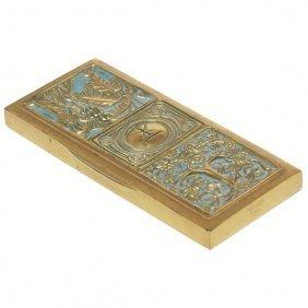 Tiffany Studios Bookmark, Bronze