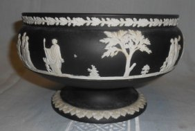 Wedgwood Black Basalt Jasperware Bowl